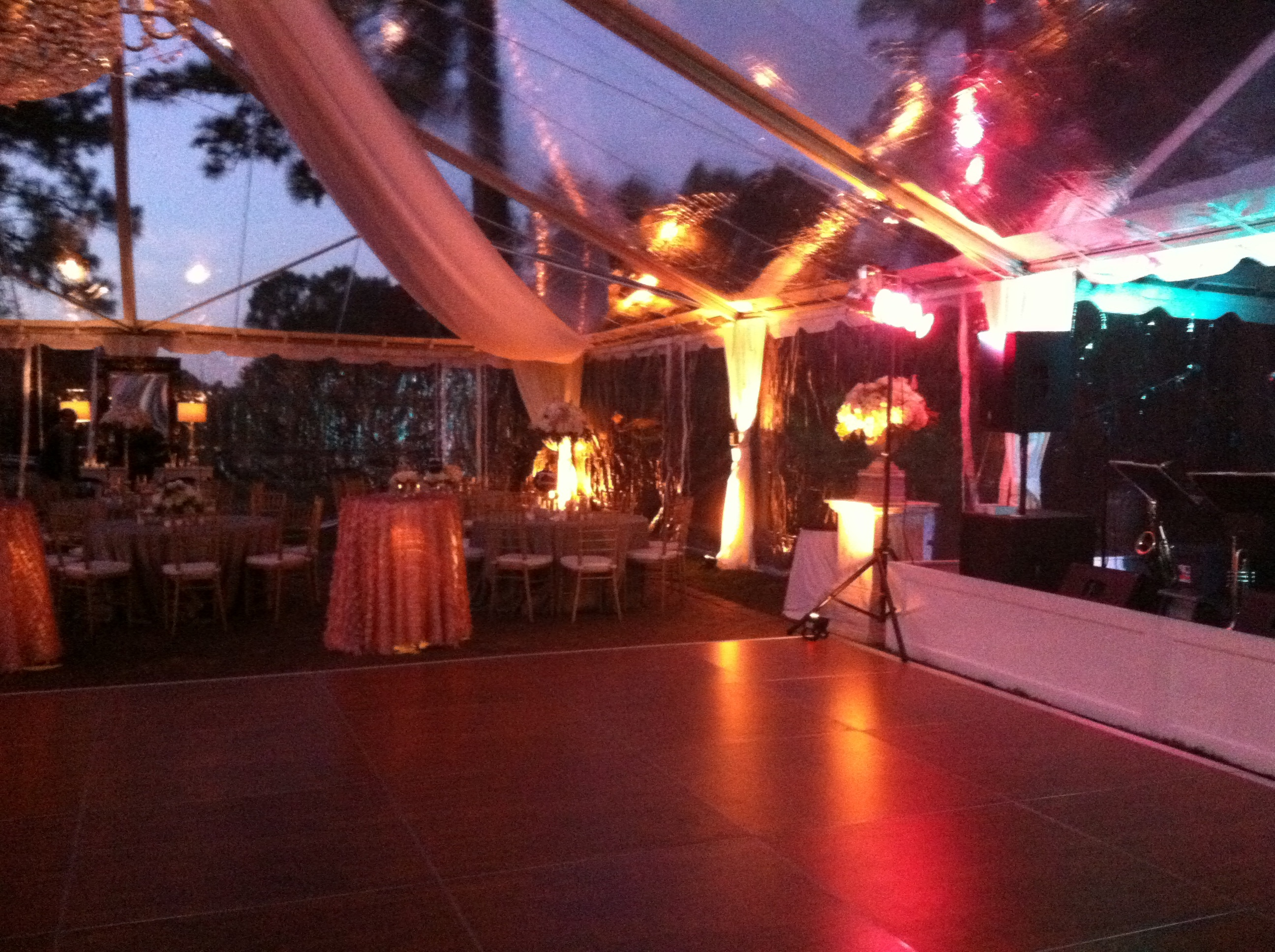 Dynamic Lighting at Local Wedding